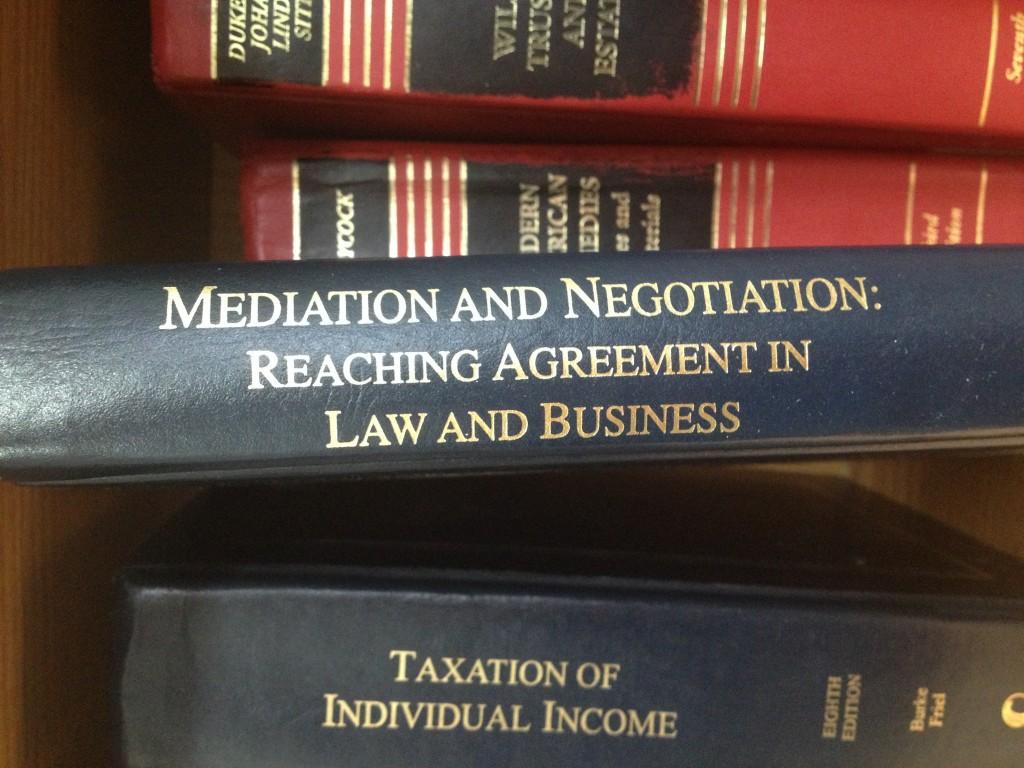 Mediation and Negotiation