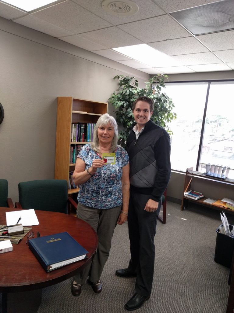 Picture of Wes With GC Winner Anne Murphy